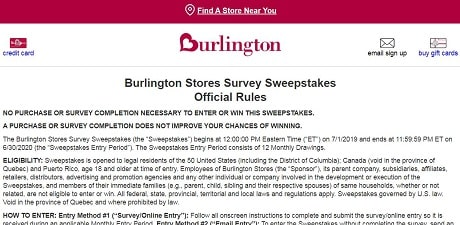 Burlington-Feedback-rules